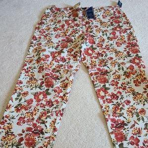 Plus size Floral Jeans for sale